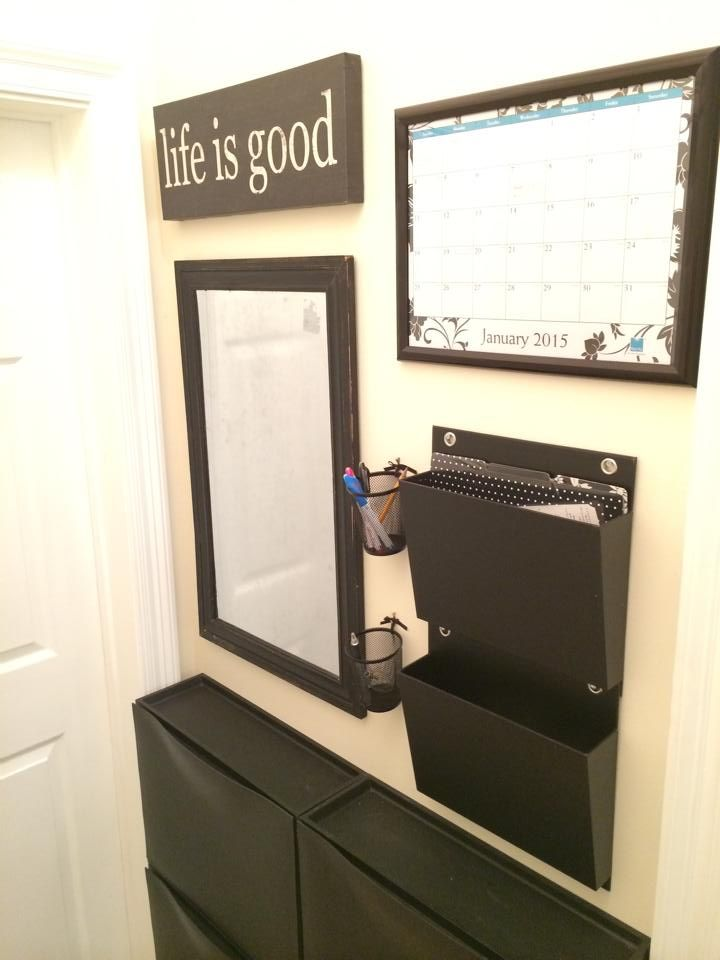 Front Entry Idea Ikea Trones Shoe Cabinets File Folders
