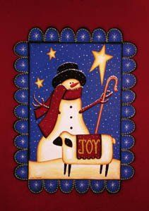 """Winter Joy Snowman Sheep Mini Flag by Custom Decor. $3.59. Flag Measures Approximately 12"""" x 18"""". Garden Flag Outdoor Décor. Permanently Dyed with a Vivid Color Process. 100% Polyester - Fade & Mold Resistant. Bright Beautiful Artwork. ###################################################################################################################################################################################################################################################..."""