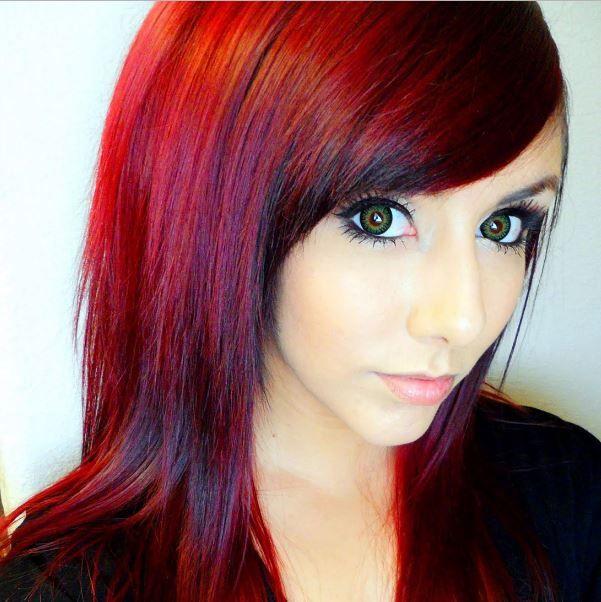 Muhteşem ateş kızılı saç renkleri boyama ipuçları