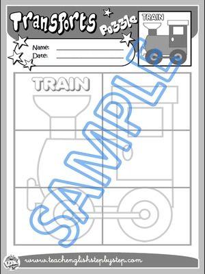 DIY Puzzle - Worksheet Version