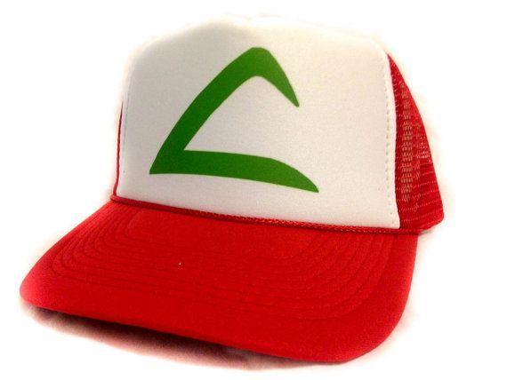 Pokemon hat ASH KETCHUM hat Pokémon famous red hat fast