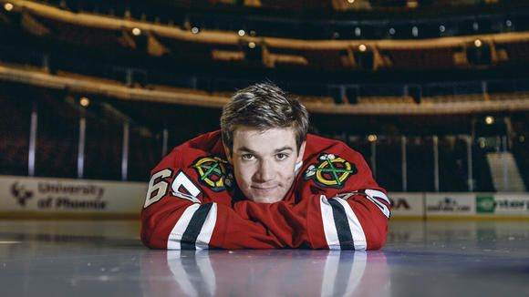 Andrew Shaw shares some hilarious hockey stories [read]: http://trib.in/1ucWjDH
