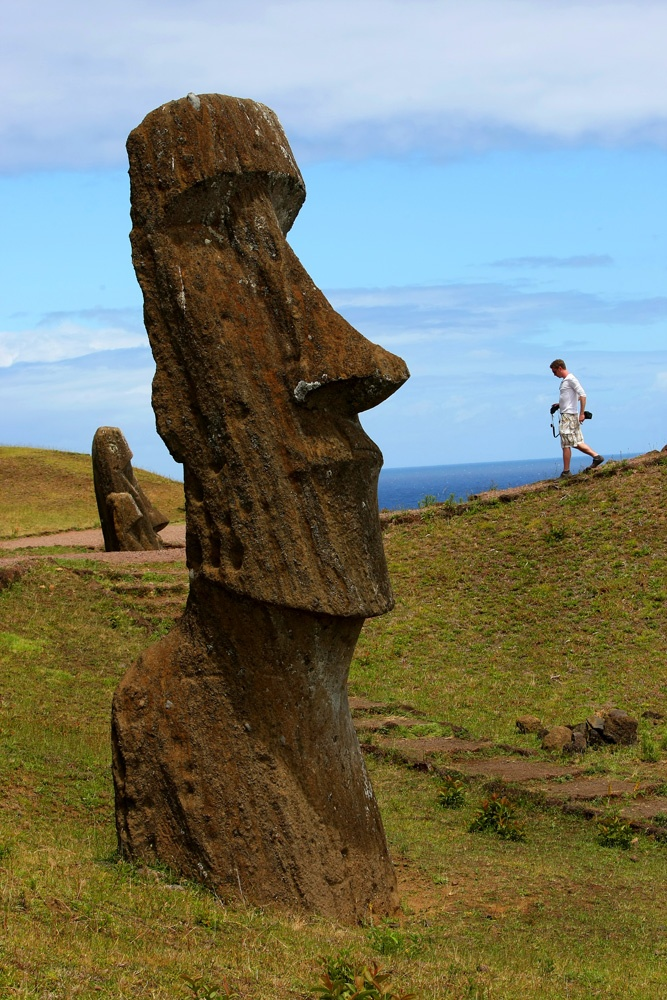 Sample irresistible wine, shop authentic wares, and learn the secrets behind the famous Easter Island moai statues at the Travel + Leisure Global Bazaar.