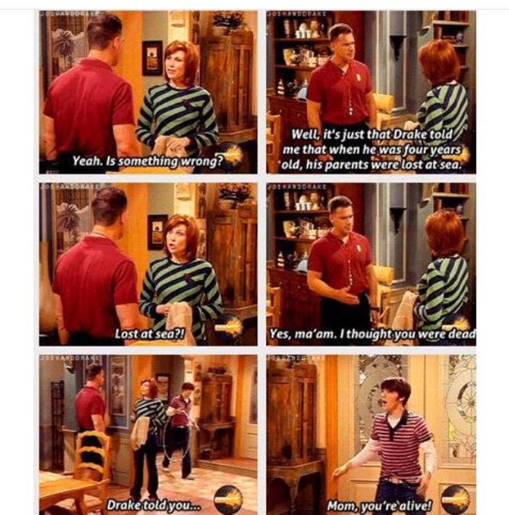 Today kids will never know drake and josh