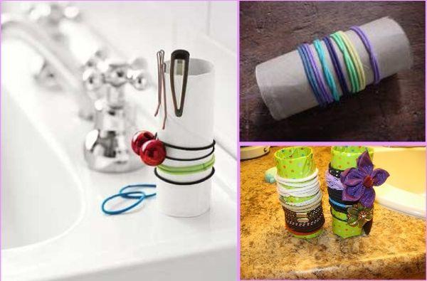 Rolki z papieru toaletowego: 5 sprytnych zastosowań #DIY