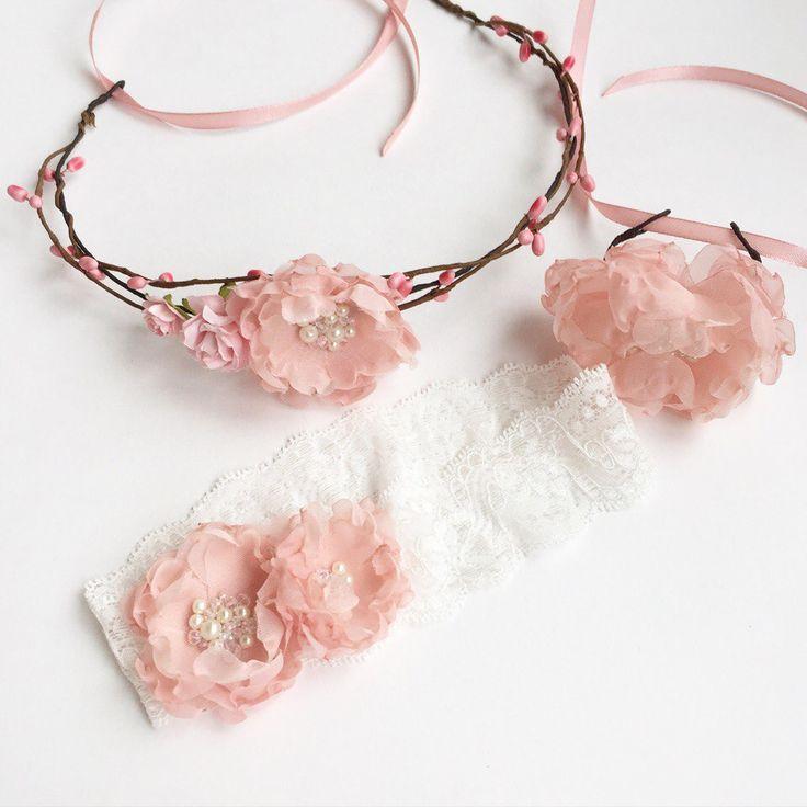 Свадебные украшения, цветочные ободки, венки