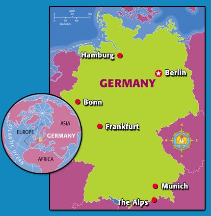 germany sightseeing guide time for kids