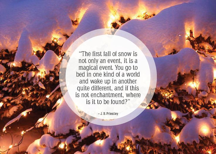 Beautiful Quotes About Snow