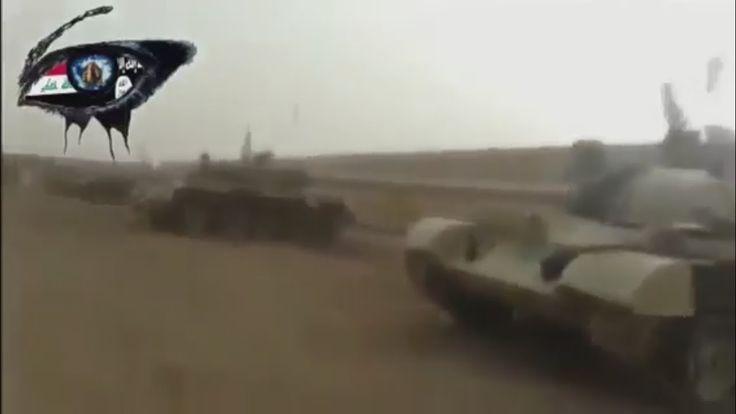 War in IRAQ & Syria 2014 ISIS captured tank brigade in Iraq.