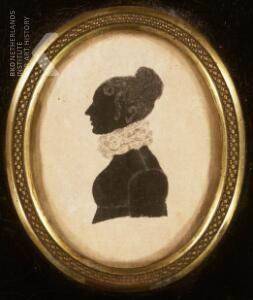 Portret van Isabella Carolina Amelia van den Berg (1785-1820)