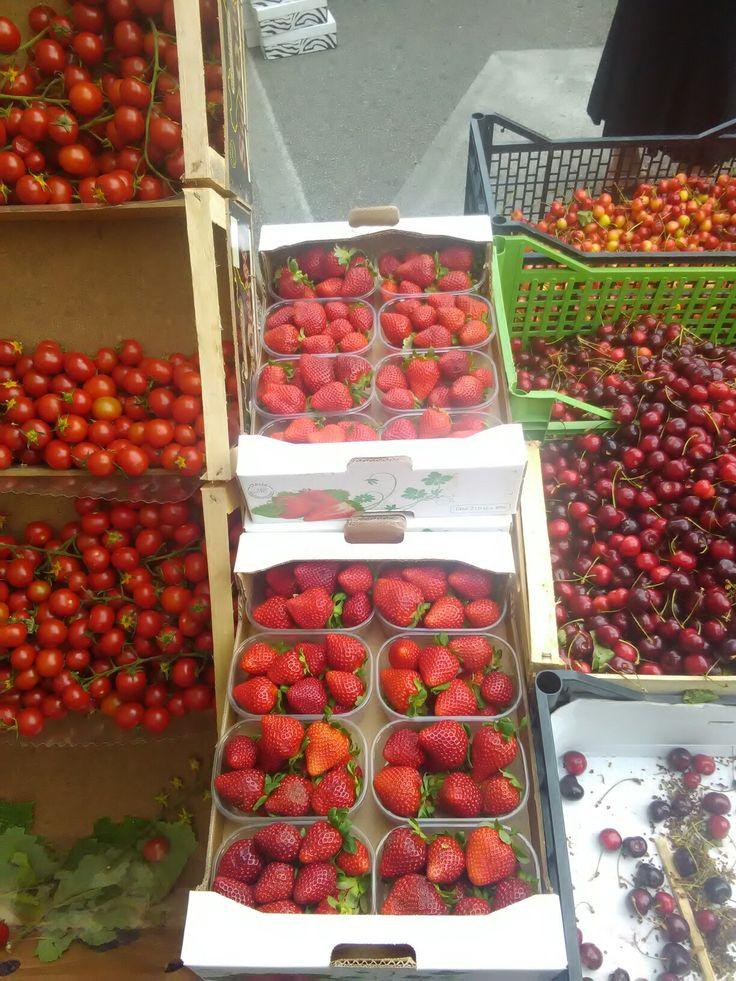 Mercato della frutta di Sessa Aurunca