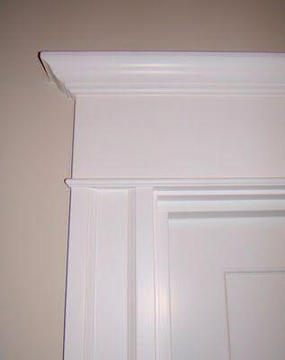 Nice Door Header. Image Number 19 Of Diy Door Crosshead . & Door Crosshead Trim \u0026 Window Header Crosshead Moulding With Bottom ... Pezcame.Com