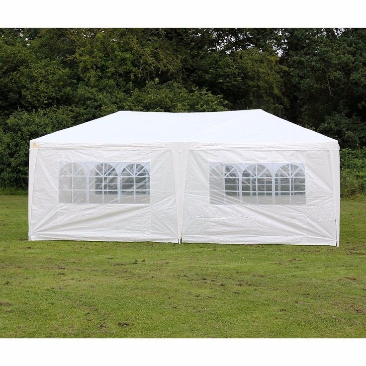Patio 10x20 Feet Heavy duty Garage Outdoor White Carport Car Shelter Canopy Tent #Vidagoods