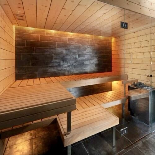 66 best sauna interior images on pinterest for Build your own sauna cheap