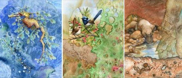 Prints – Mixed Media. Rhonda's Art is a collection of original watercolour, mixed media and silk paintings by Gosford artist Rhonda N. Garward.