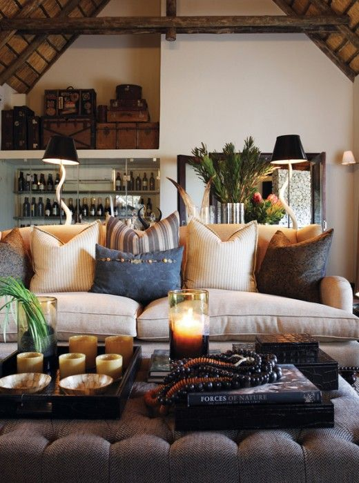 African Style Living Room Design Delectable 98 Best Safari Images On Pinterest  African Interior African Design Ideas