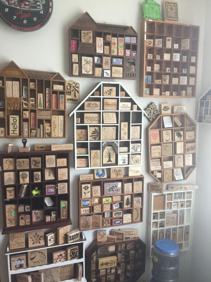 Wooden storage solutions - Scrapbook.com