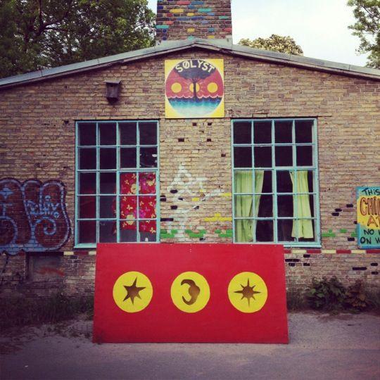 Christiania, quartier hippie
