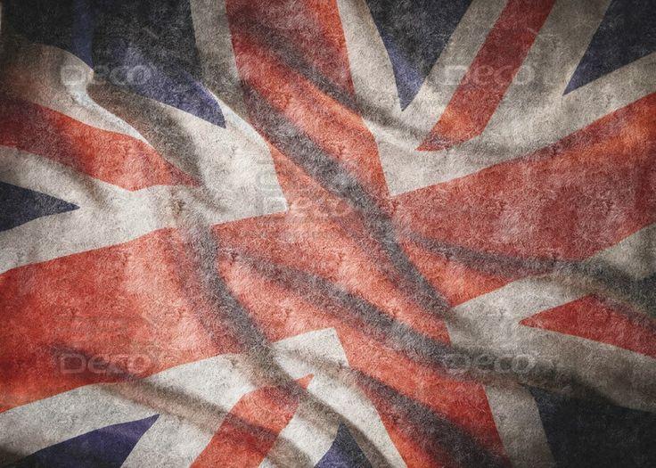 Flag on Grass UK