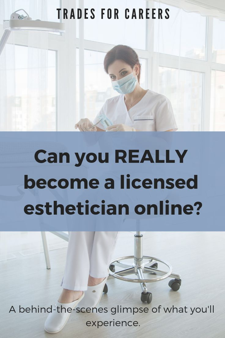 Can You Really Go to Esthetician School Online? (State by