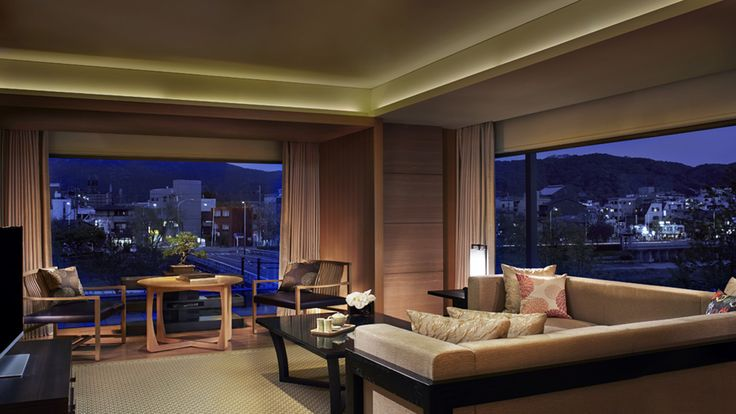 Corner Suite MINAMI - The Ritz-Carlton, Kyoto - Japan & Luxury Travel Advisor – luxurytraveltojapan.com - #Luxuryhotels #Kyoto #Japan #Japantravel #ritz-carlton