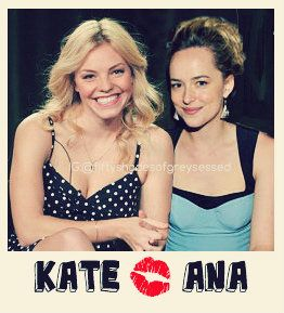Kate Kavanagh and Ana Steele | Eloise Mumford | Dakota Johnson