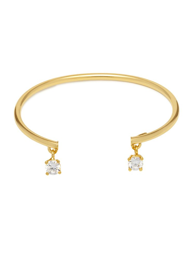 'The Bling Ring' Charms Cuff Bracelet