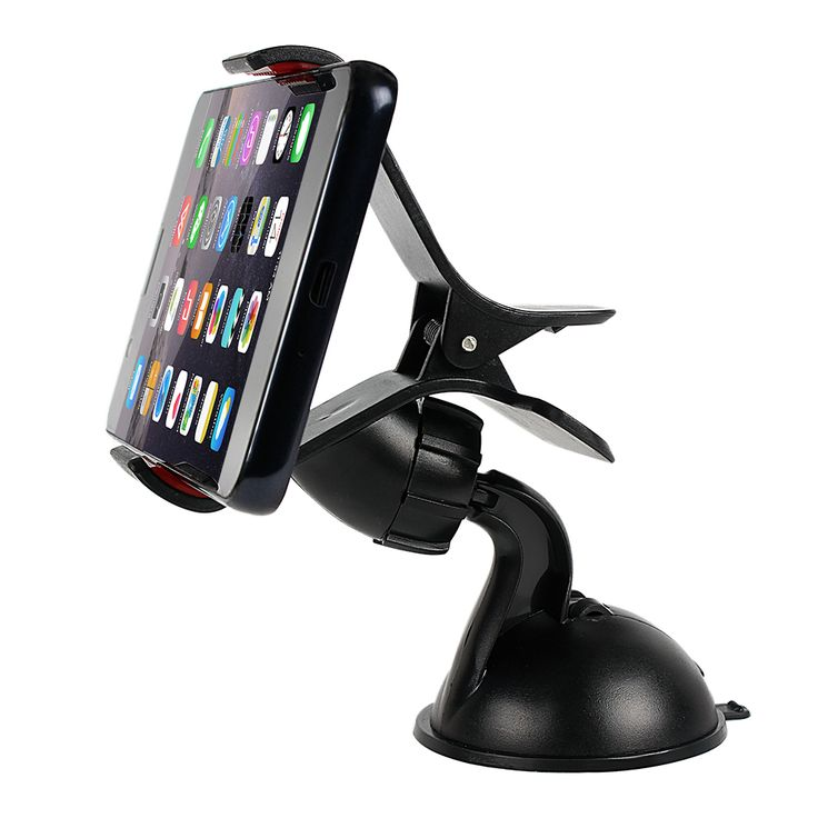 Универсальный Автомобильный Держатель Телефона GPS Стенд 360 Поворот Регулируемый Приборной Панели Лобового Стекла Мобильного Телефона Держатель Для iPhone 5 6 Plus Samsung