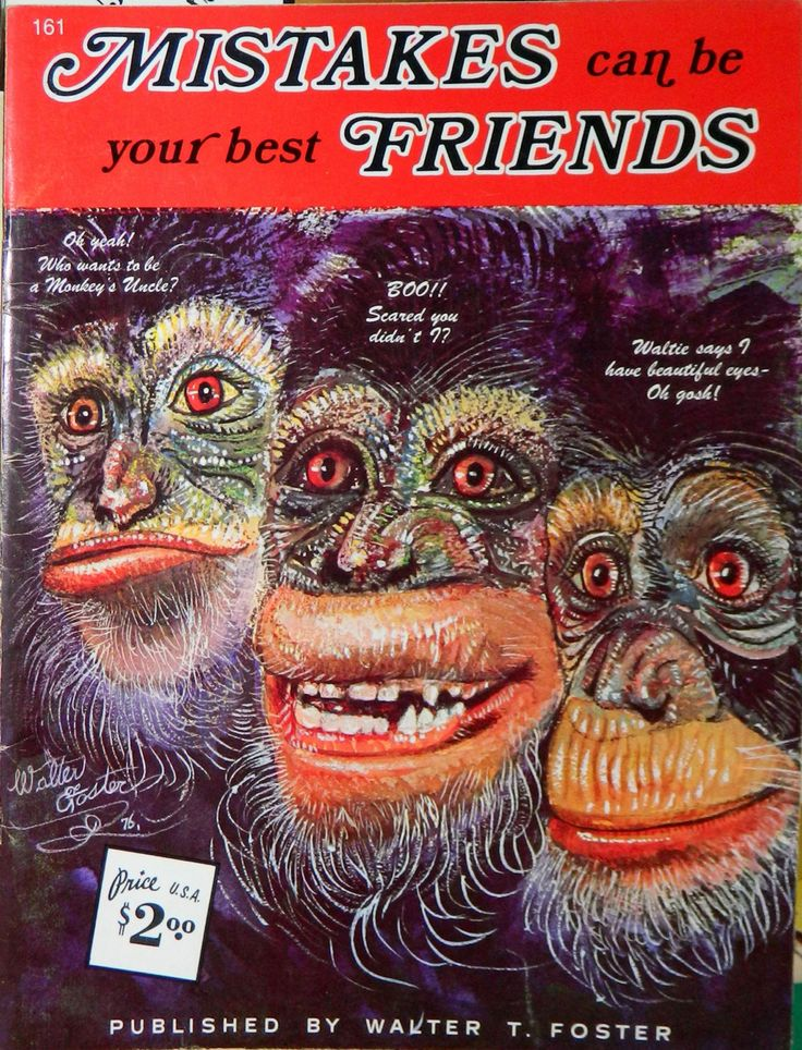 Walter Foster Painting Book Mistakes Can Be Your Best Friends by Walter T Foster How-To Paint  Book, CrabbyCats Crabby Cats - pinned by pin4etsy.com