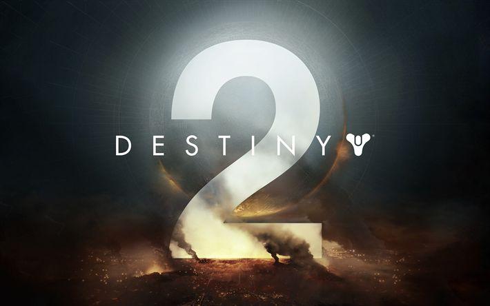 Herunterladen hintergrundbild destiny 2, 2017, 4k, poster, neues spiel, playstation 4, xbox one, windows