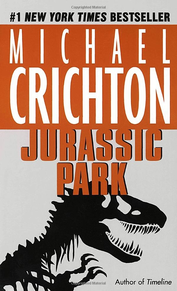 Jurassic Park by Michael Crichton: Enjoyed the book and the movie equally as well but for different reasons. However, the second book bothered me for the 're-intruduction' of Ian Malcolm's character. :-/