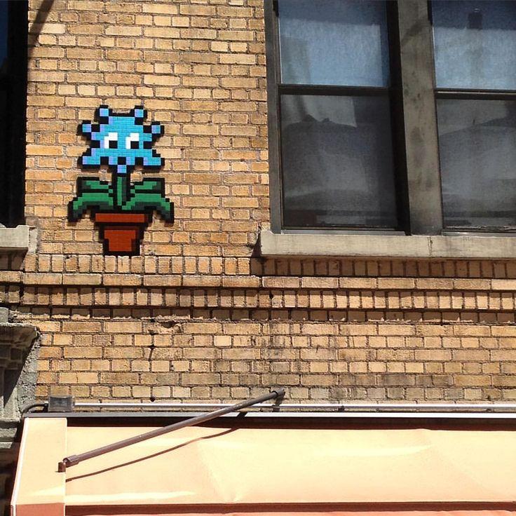 My bro sent me this @invaderwashere from NYC #spaceinvader #streetart #mosaic #tile #space #invader #art #streetartist #graf #urbanart #rsa_graffiti #rsa_preciousjunk #rsa_streetview #dsb_graff #artist #arte #arteurbano #royalsnappingartists...