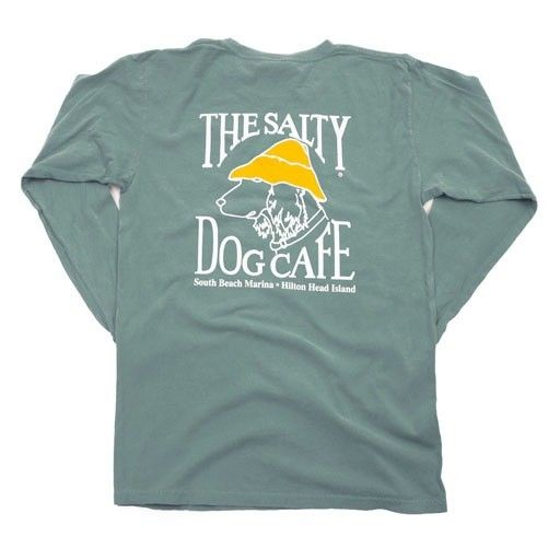 Went to this cafe with my family-when mom and dad were alive!' Salty dog cafe. Want! Flo blue/medium