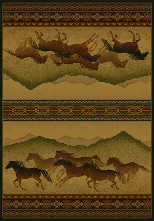Chestnut Mare Lodge Area Rug buy Southwestern #rugs at Lights in the Northern Sky http://www.lightsinthenorthernsky.com