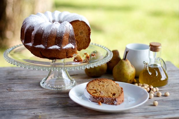 Pear and Olive Oil Bundt Cake | Food and Drink | Pinterest