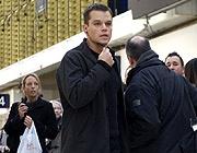 Mat Damon in all his Bourne glory