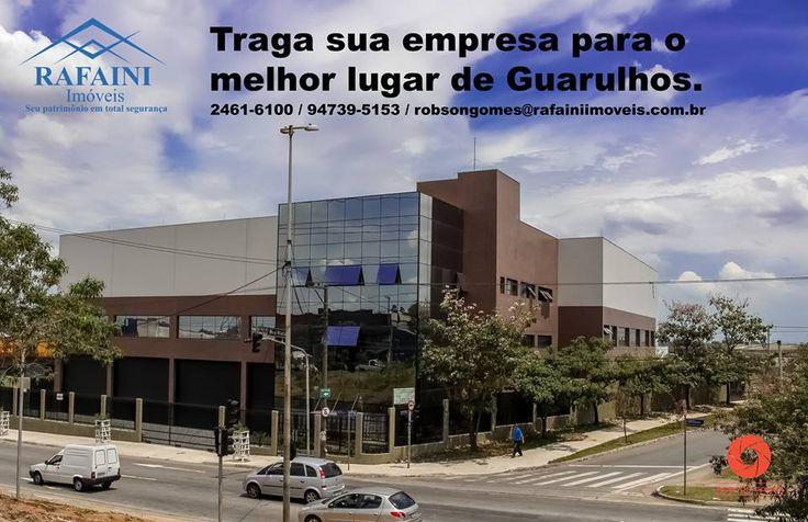 Locação de galpão em Guarulhos, 3.000m² com escritórios, pátio de manobras e pé direito de 15m.
