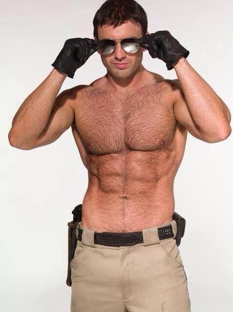 All handsome male police full naked 10