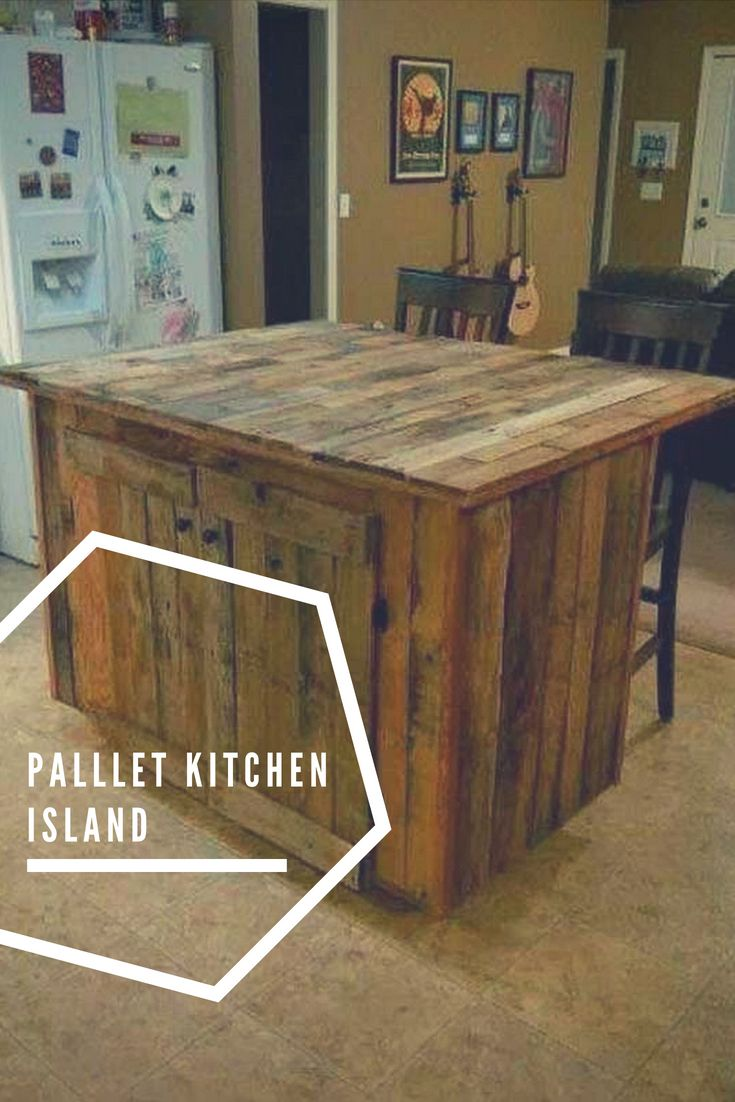 Pallet Kitchen Island Reuse Ideas Inspirations Pinterest