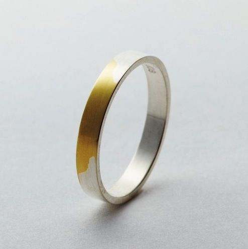 Wedding Rings That Transform As They Age via Taxi.