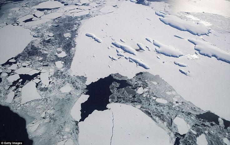 The Amundsen Sea embayment hosts some of the fastest melting glaciers on the planet. This is because warm ocean waters flow across the continental shelf into sub-ice shelf cavities where they slowly erode the ice, especially near the glaciers' grounding lines — where the glacier meets the sea