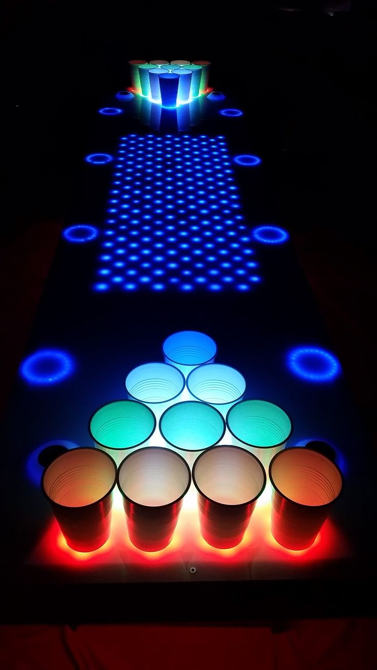 25 Great Ideas About Led Beer Pong Table On Pinterest Beer Pong Tables Beer Party Themes And