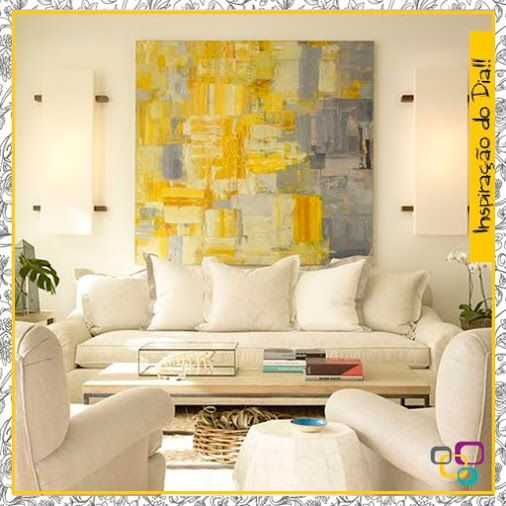 quadros abstratos na decoracao : 97 Best images about Quadros abstratos on Pinterest ...