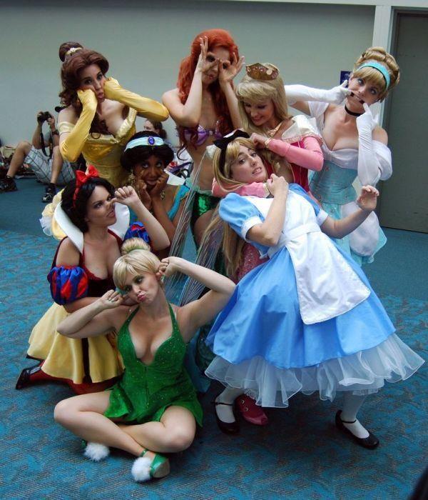 Personagens da Disney, e não tenho nada pra acrescentar.