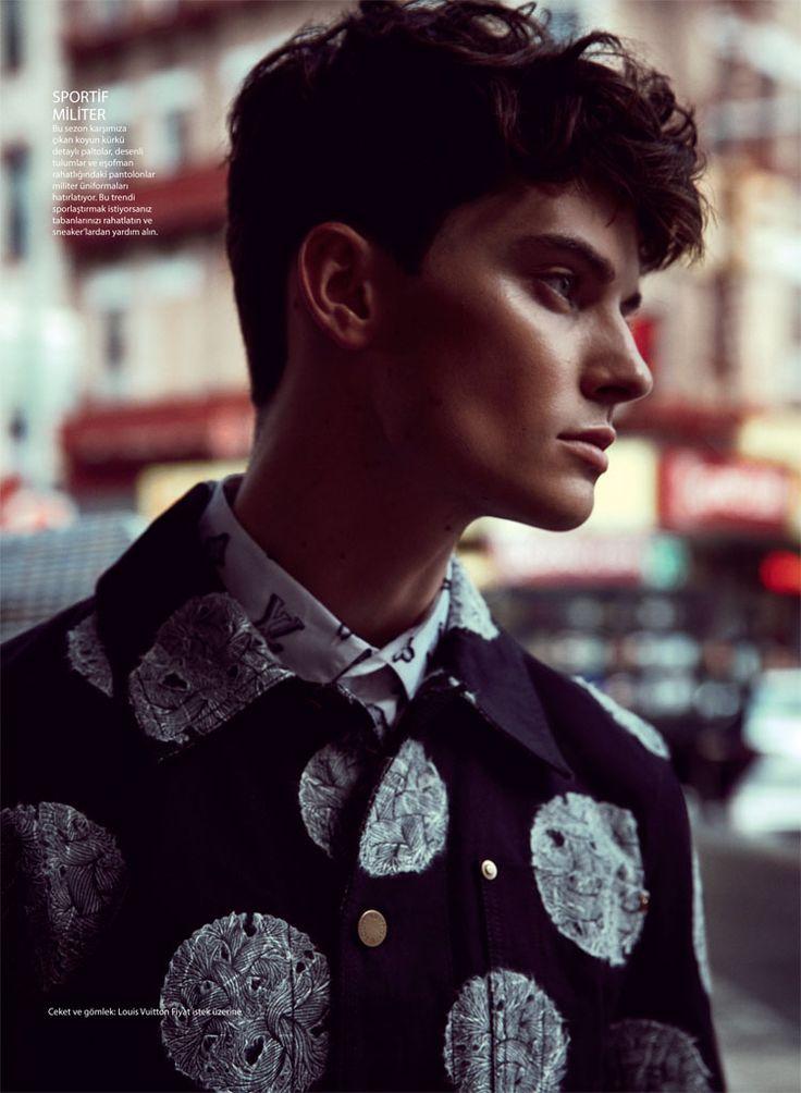 GQ Turkey Heads Outdoors for Fall Fashion Editorial