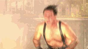 Rammstein GIF Till Lindemann - Sonne headbanging by Rammsteincollector
