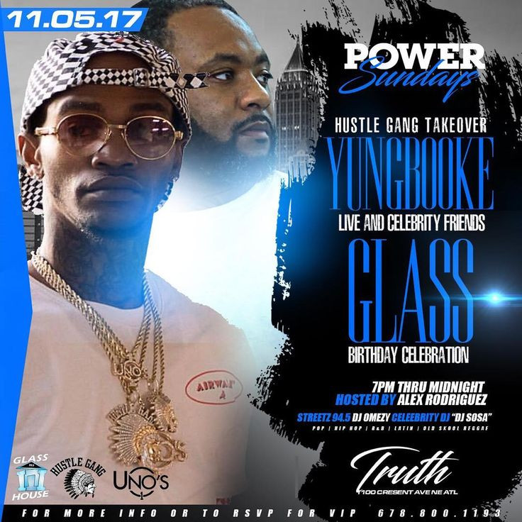 PUBLIC SERVICE ANNOUNCEMENT: This Sunday @truth.atl we celebrating the big homie @glass357 BDAY BASH!!! THIS IS A HUSTLE GANG TAKEOVER PARTY: MR Y6 HIMSELF @iamyungbooke WILL BE IN THE BUILDING!!! Power Sundays every Sunday @truth.atl Pull up on us Sunday @truth.atl 7pm-midnight music by @djomezy and @cartelsosa hosted by @alexthehuncho#atlanta #atl #falcons #ga #riseup #dayparty #sundays #sundayfunday #party #vip #bottleservice #bottles #gsu #didyousmiletoday #free #spelmancollege…
