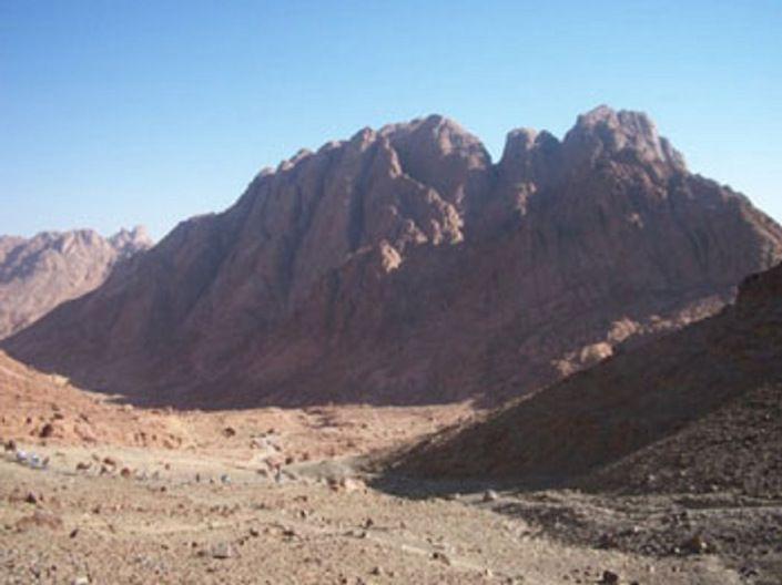 Le mont Sinai (Egypte)