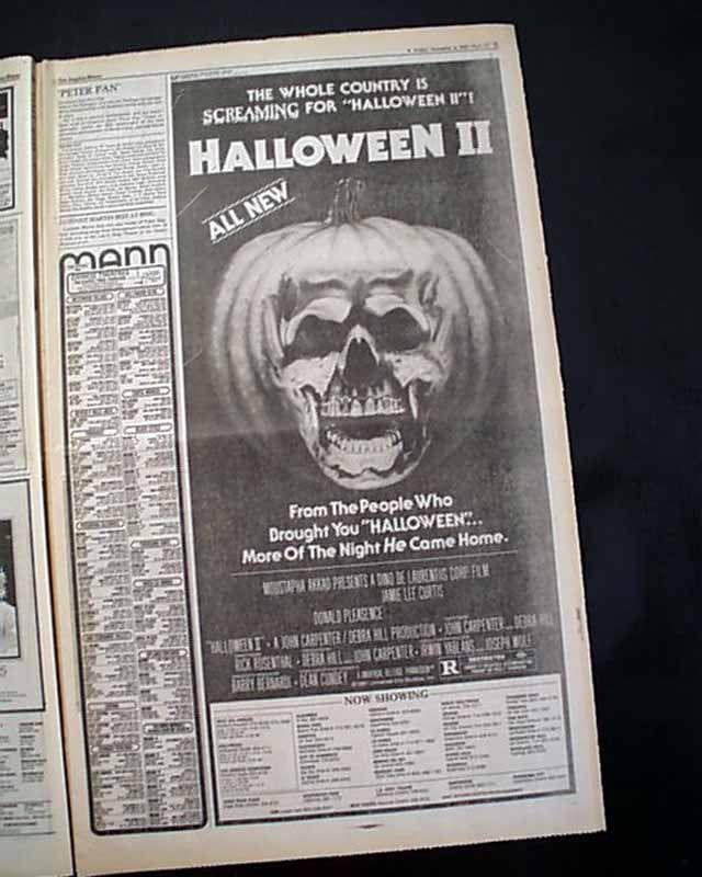 646308 Film Movie Historical Newspaper Halloween Ii