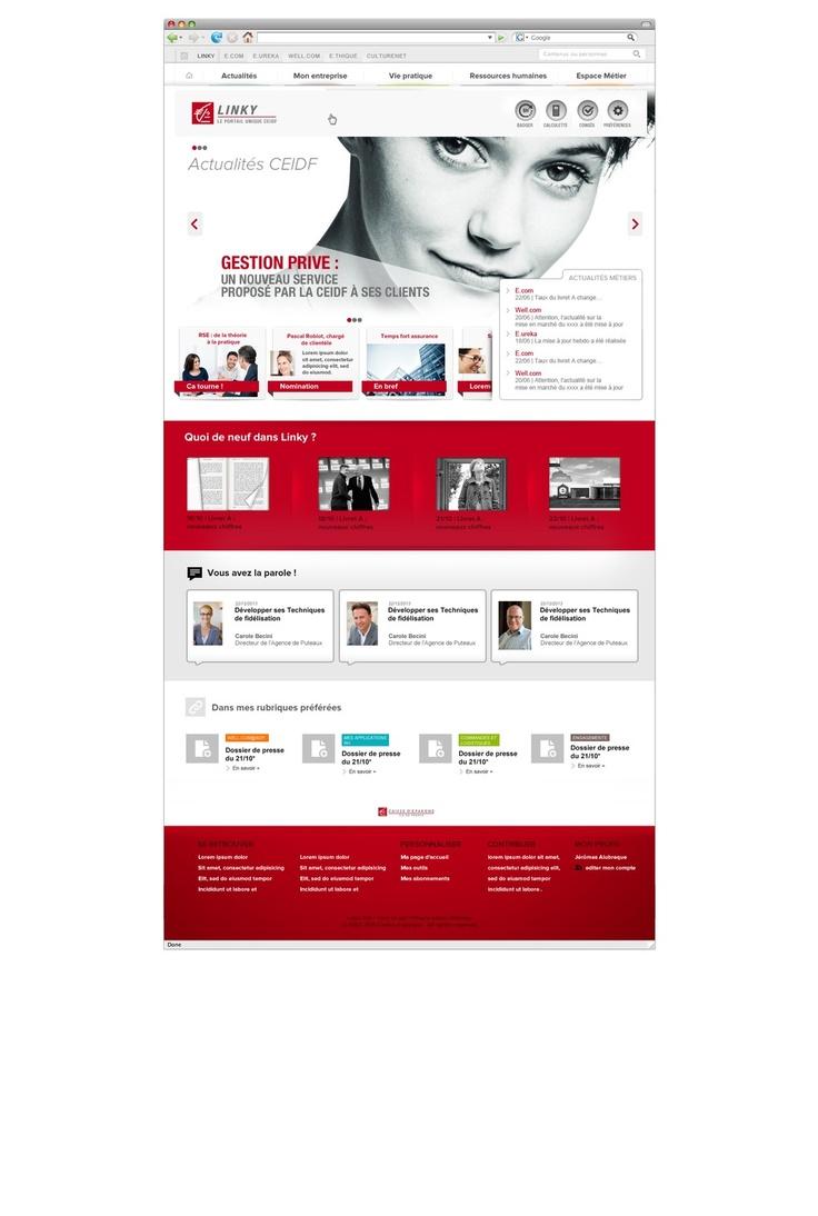 25 best intranet portal ideas on pinterest intranet for Portale design